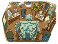 "Studie ""Mind the Gap: The Lack of Accountability for Killer Robots"" von Human Rights Watch und der International Human Rights Clinic der Harward Law School | Bild (Ausschnitt): © Russell Christian &  Rafael Jimenez for Human Rights Watch [CC BY-NC-ND 3.0 US] - HRW Website"
