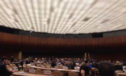 CCW-Verhandlungen der Mitgliedstaaten Vereinten Nationen im Dezember 2016, Genf | Bild (Ausschnitt): © Facing Finance