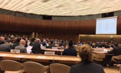 """Group of Governmental Experts""-Meeting im Rahmen des CCW am 13.11.2017 in Genf | Bild (Ausschnitt): © Facing Finance"