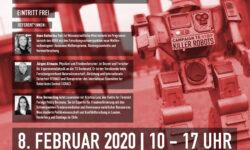 Killerroboter & Gender Konferenz, 8.02.2020, Uni Kassel. | Bild (Ausschnitt): © DFG-VK