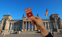 Der Deutsche Bundestag wird am 31. Januar 2020 über Deutschlands Rolle im Kontext internationaler Bemühungen zum Verbot von Killer Robotern abstimmen. | Bild (Ausschnitt): © Kampagne Killer Roboter Stoppen
