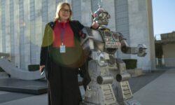 Mary Wareham, Koordinatorin der Kampagne Stop Killer Robots. | Bild (Ausschnitt): © Pax Christi Flandern