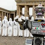 Kampagne Stop Killer Robots in Berlin | Bild (Ausschnitt): © Campaign to Stop Killer Robots